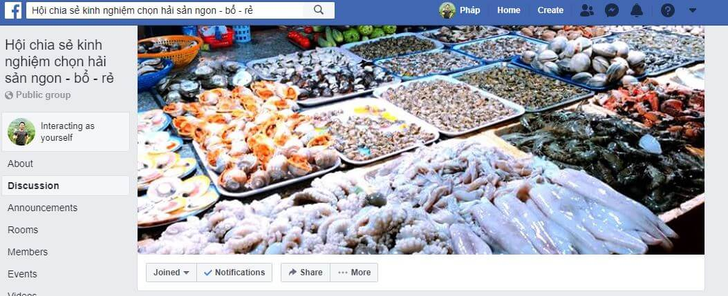 Hội chia sẽ kinh nghiệp mua hải sản