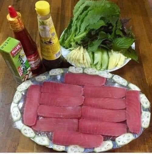 Món ăn từ cá ngừ đại dương phi lê