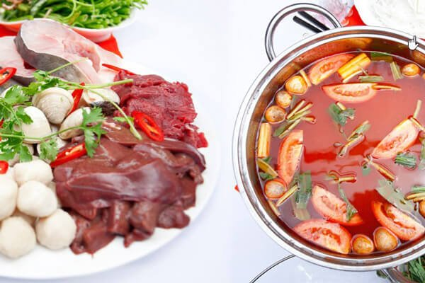 Nước dùng lẩu Thái chua cay, thơm ngon