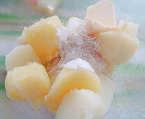 nghiền nát khoai tây