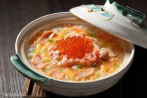 Cách nấu cháo cá hồi đậu xanh ngọt vị