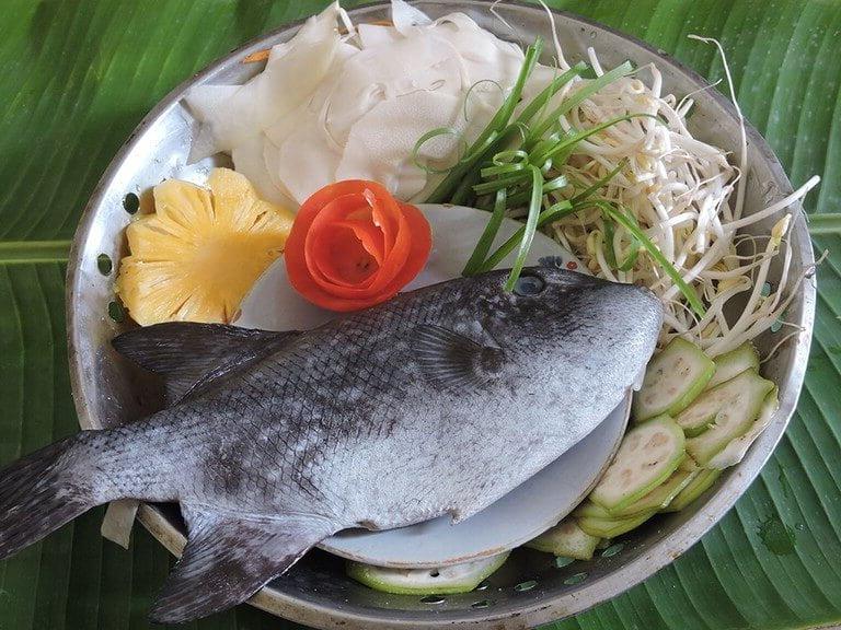 Món canh chua cá bò